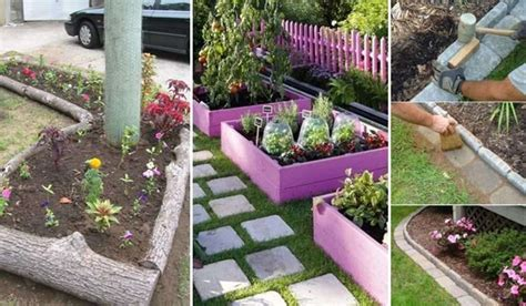 Ideas For Garden Borders 15 Awesome Diy Garden Bed Edging Ideas