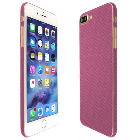 apple iphone   techskin pink carbon fiber skin
