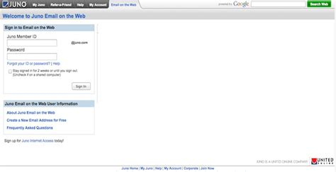 Juno Email Search Juno Email Start Page Seotoolnet