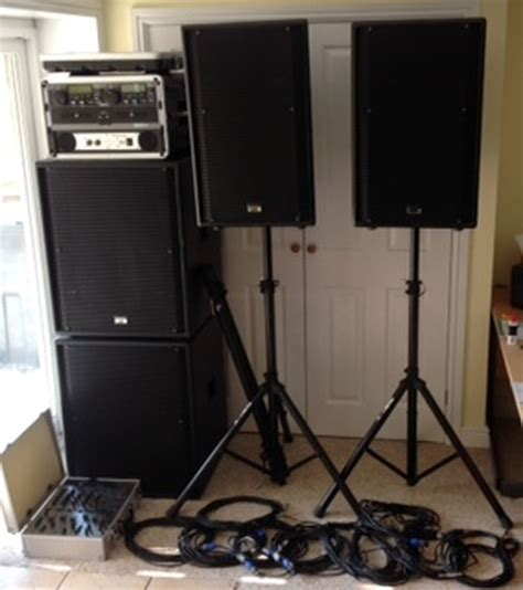 used dj lights for sale dj music system pa