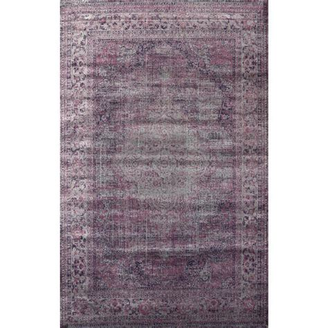 8 x 9 area rugs nuloom medallion marlana amethyst 7 ft 8 in x 9 ft 6 in area rug cfvi04a 78096 the home depot