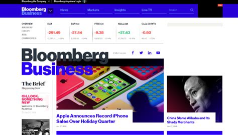 Bloomberg Top Mba 2015 by Bloomberg Goes Digital With Bloomberg Business Am