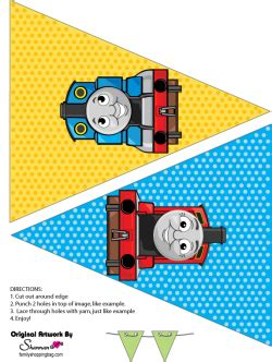printable thomas the train party decorations thomas tank printable party banner thomas the tank engine