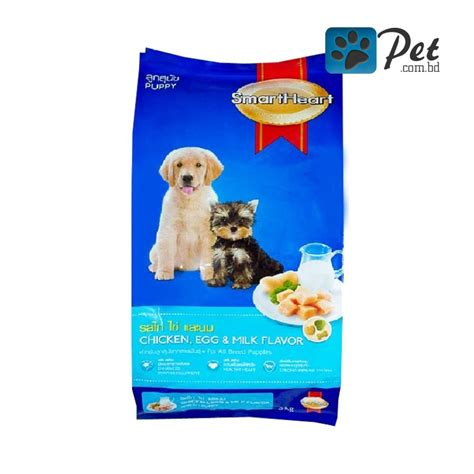 Smart Puppy Beef And Milk Flavour 1 5kg Mirip Pedigree Alpo 1 smartheart puppy food chicken egg milk flavor 1 5kg pet bd