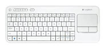 layout italiano qwerty logitech tastiera wireless touch k400 con touch pad
