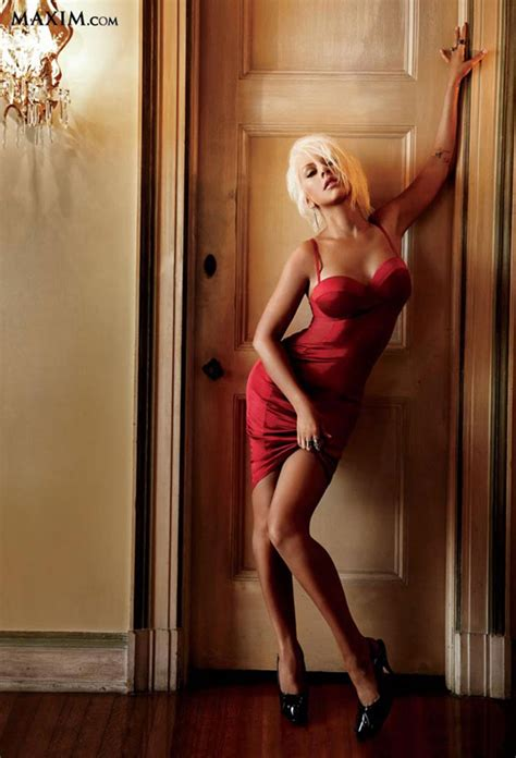 Aguilera Pictures From Maxim Magazine by Aguilera Celebsla