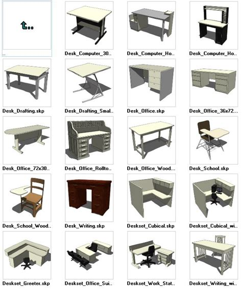 sketchup layout free download sketchup desk 3d models download autocad autocad revit