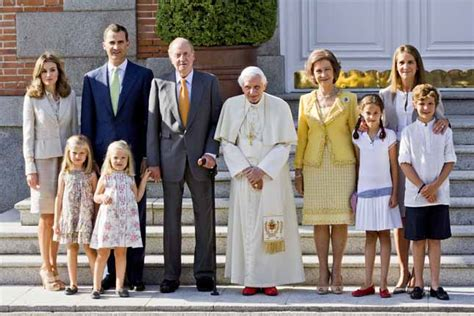 casa reale spagnola giornata mondiale della giovent 249 benedetto xvi ospite dei