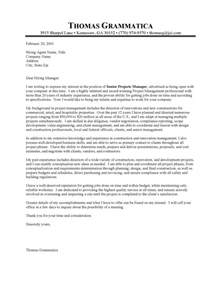 Construction Cover Letter by Construction Resume Cover Letter Sle
