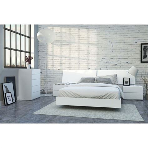 white lacquer bedroom set 5 piece queen bedroom set in white lacquer and melamine