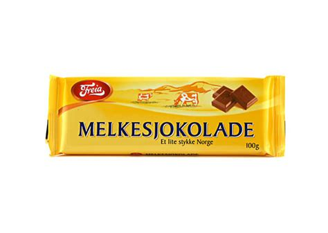 Danish Home Decor by Freia Of Norway Milk Chocolate Bar 3 5oz 100g