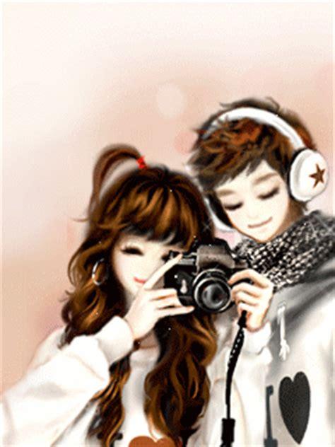 wallpaper cute korean couple chinthya dyana anime couple korea gif and jpg