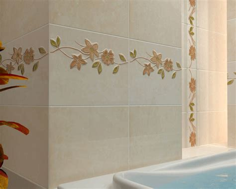 jägermeister dekor kwiecisty dekor w niewielkiej łazience ceramika paradyż