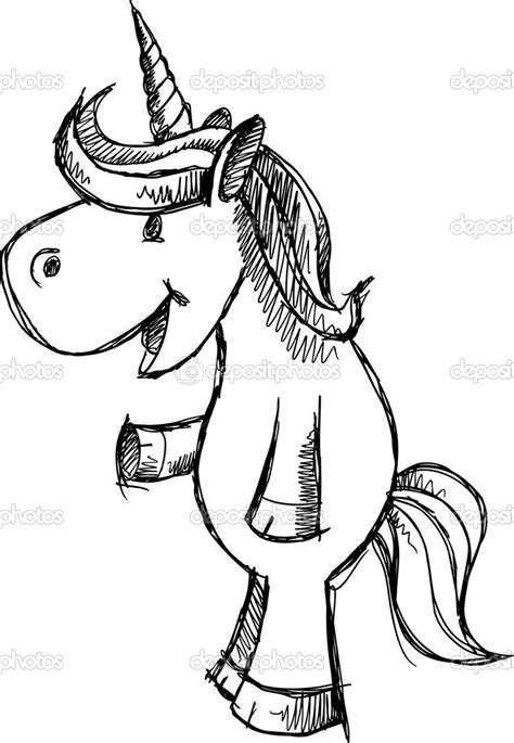 Drawing For by Easy To Draw 2d Unicorns Unicorn Sketch Doodle