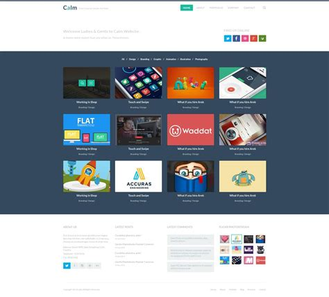 Latest Free Web Page Templates Psd 187 Css Author Html Portfolio Template