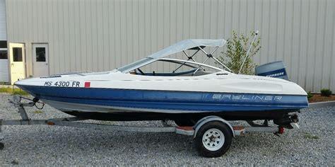 bayliner boats capri bayliner capri 16 ft bowrider 1992 for sale for 1 200