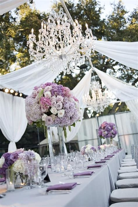 Lavender Wedding Decorations by Best 20 Outdoor Wedding Centerpieces Ideas On
