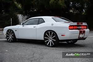 2013 dodge challenger srt 8 on 24 quot velocity wheels vw 12