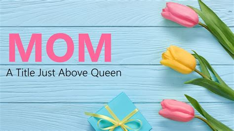 mothers day template free s day powerpoint templates presentationpoint