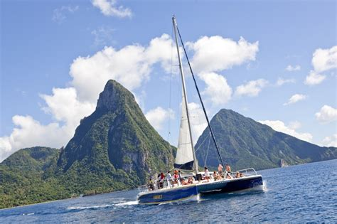 catamaran excursion st lucia it just got easier to have a wedding in the caribbean