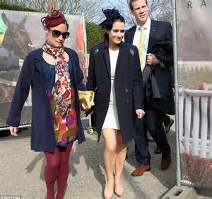 Gold Coat From Kirsty by Here Come The Zara Phillips Is In A Grey