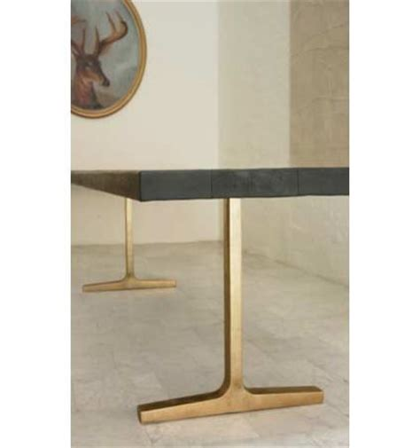 brass dining table base brass trestle table base kitchen ideas