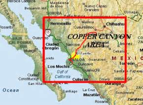 Copper Canyon Mexico Map by Copper Canyon Mexico Trip