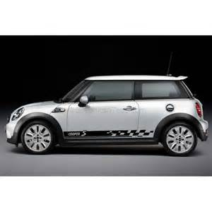 Mini Cooper Vinyl Graphics Bmw Mini Cooper S Car Stickers Custom Side Stripe