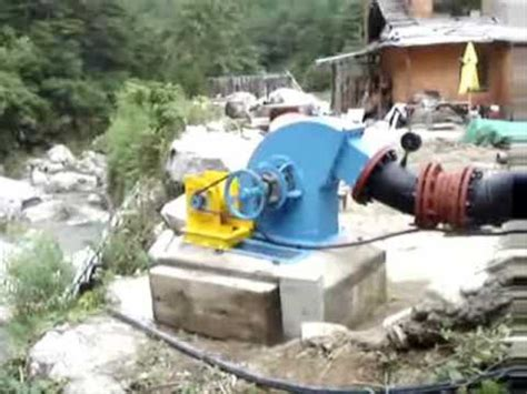 home s micro hydro generating system