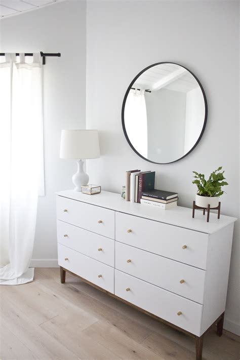 west elm modern white dresser modern white dresser a west elm inspired ikea hack ikea