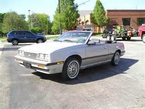 sell used 1984 chevrolet cavalier type 10 convertible