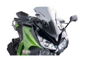 Windshield Puig Kawasaki Er6 N puig racing windscreen kawasaki 1000 2011 2016 revzilla