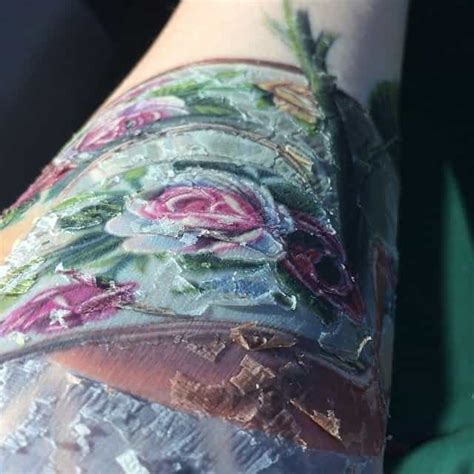 what to do when your tattoo peels scabbing is it normal authoritytattoo