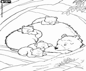 mama bear coloring pages bears coloring pages printable games