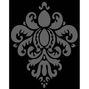 stencil studio handmade small shabby chic french wallpaper x large damask stencil size 12 x 15