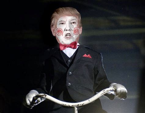donald trump in movies if donald trump starred in your favorite horror movies