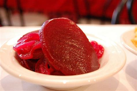 pickled beets  onions