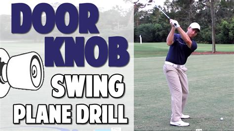 Golf Swing Lessons by 2 4 Golf Swing Plane Lesson Turn The Door Top