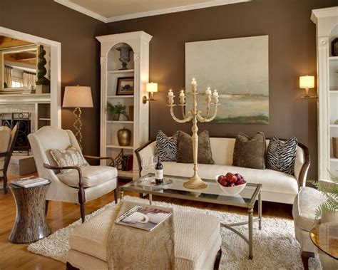 Living Room Paint Ideas With Brown Trim Muddy Tracks Decorating With Brown Brings Out The Best