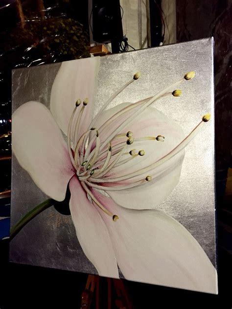 dipinti su tela fiori oltre 25 fantastiche idee su fiore dipinto su tela su