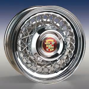 Cadillac Spoke Wheels Onlyoldiesgarage Wire Wheels Cadillac Style Wire