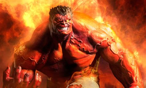 marvel red hulk premium format tm figure by sideshow