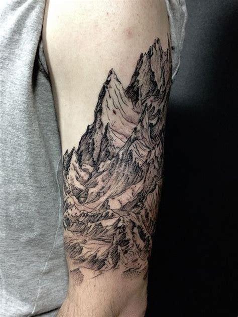40  Mountain Tattoo Ideas   Art and Design