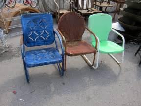Metal Paint Exterior - red vintage metal lawn chairs paint vintage metal lawn chairs ideas tedxumkc decoration