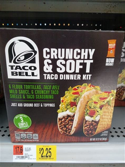 taco bell dinner kit coupons
