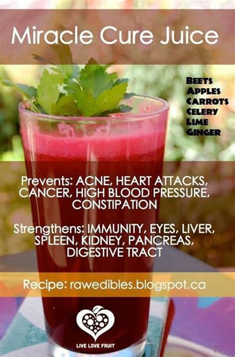 Juicing Vegetables Detox by Miracle Cure Juice Holistic Health Juicing