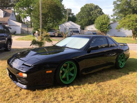 Nissan 240sx S13 Coupe 1989 Nissan 240sx S13 Coupe Ka T 500hp Jdm Black Classic