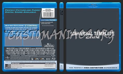blu ray slipcover template universal v2 blu ray template dvd label dvd covers