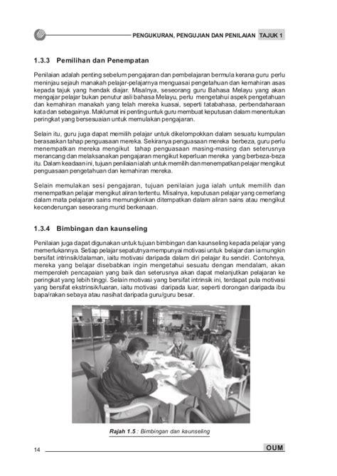 Penilaian Pembelajaran Bahasa Asli pengujian pengukuran penilaian