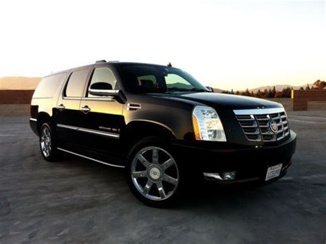 airbag deployment 2012 cadillac escalade esv spare parts catalogs service manual purchase used no reserve 2004 cadillac